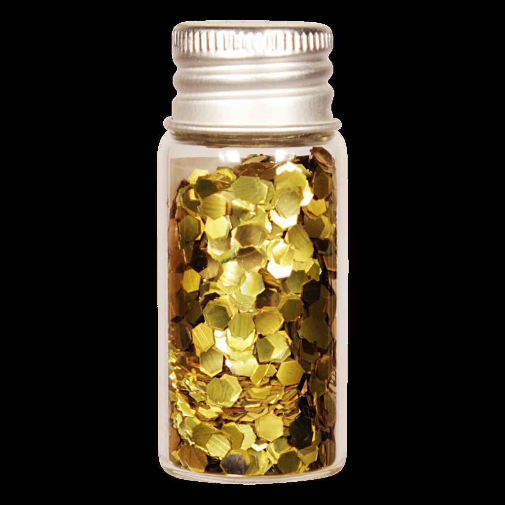 Vesica bioglitter Gold chunky